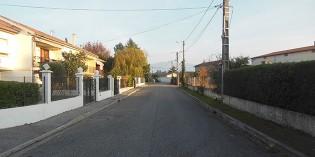 La rue Alphonse Gélibert