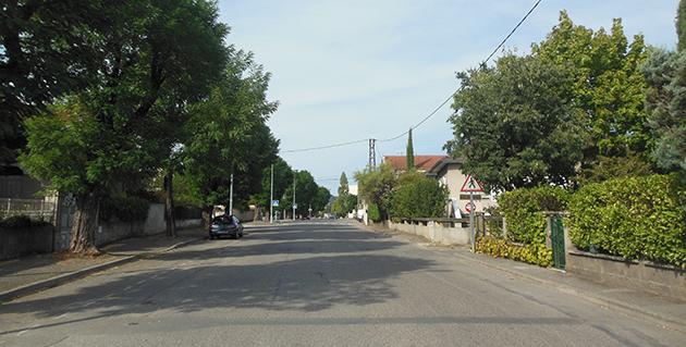 La rue André Chénier