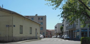 La rue Bonnevaux