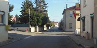 La rue Bruno Larat