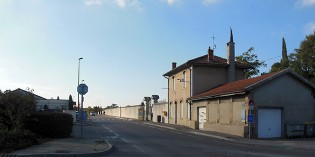 La rue Calixte Lafosse