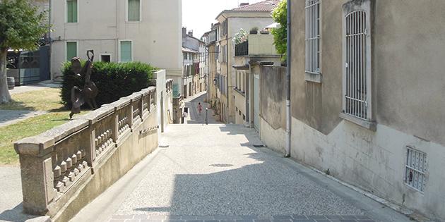 La rue de la Banque
