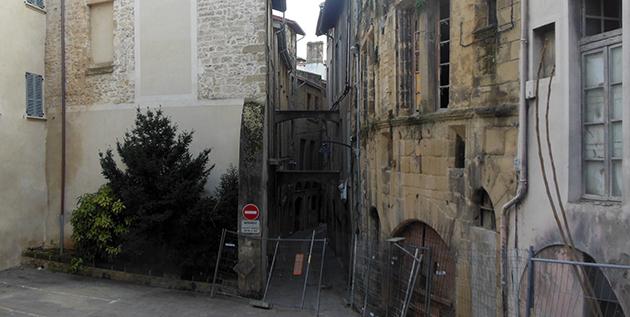 La rue du Mouton