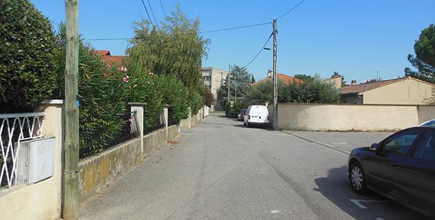 La rue Gaston Bouchet
