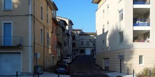 La rue de l'Infirmerie
