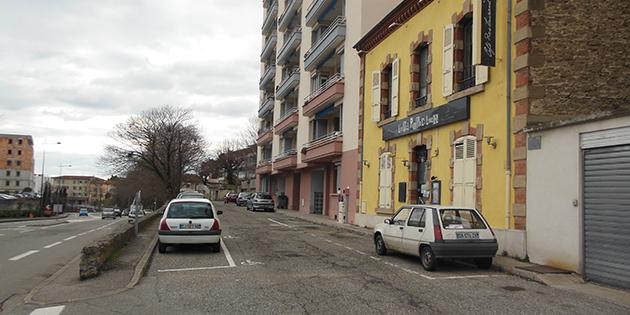 La rue Marc-Antoine Jullien de la Drôme