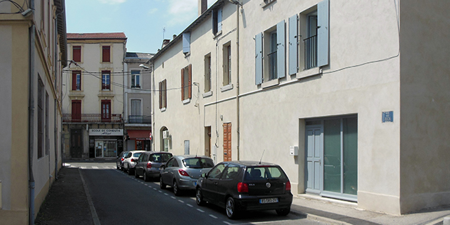 La rue Noé Roch