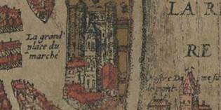 9 mai 1049 – Le cloître de Saint-Barnard est la proie des flammes