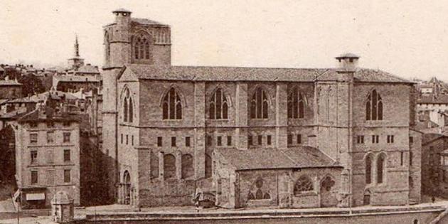 Adèle Souchier - L'église de Saint-Barnard (poésie)