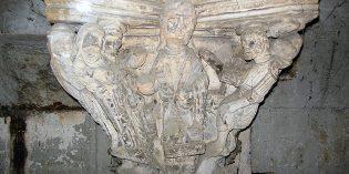 Vestiges d'une ancienne chapelle de la collégiale Saint-Barnard
