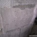 Des graffitis datés de 1779 à 1859