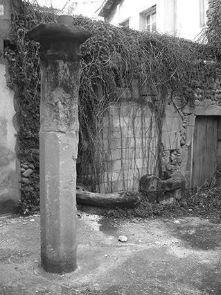 Vestiges du second monastère de Sainte-Ursule, au nord de la côte Sainte-Ursule