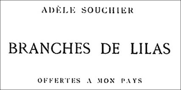 Adèle Souchier, poétesse romanaise