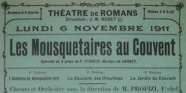 Affiches de théâtre du début du XXè siècle