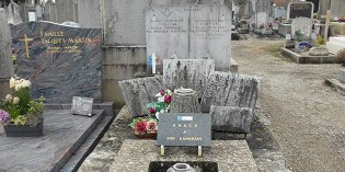 La tombe d'Albert Triboulet