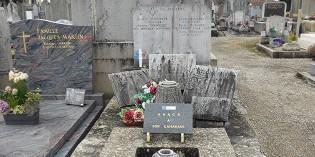 La tombe d'Albert Triboulet