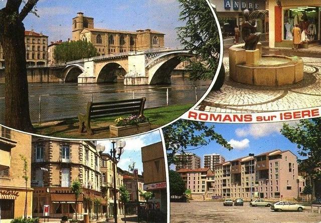 Romans Sur Isere Romans Sur Isere En Cartes Postales Il Y A Quelques Annees