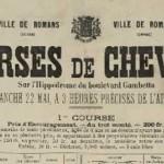 Les courses hippiques du 22 mai 1887