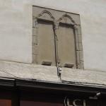 """La fenêtre """"Renaissance"""" du Crédit Lyonnais (LCL), place Maurice Faure"""