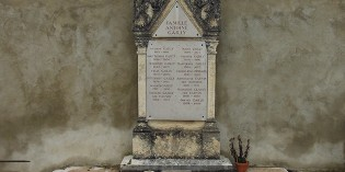 La tombe d'Ernest Gailly