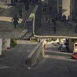 Hier et aujourd'hui : la rue de Clérieux et la rue de la Pavigne