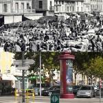 Hier et aujourd'hui : la place Jean Jaurès
