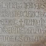 Exceptionnelles inscriptions funéraires du XIIIè siècle !