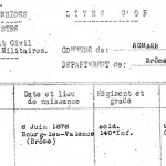 Livre d'Or des romanais Morts pour la France, 1914-1918