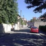 La rue Eugène Blain