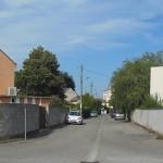 La rue Jean-Baptiste Dochier