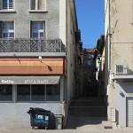 La rue Saint-Vallier