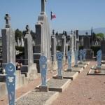Les tombes musulmanes du cimetière